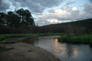 Rocky Mountain evening